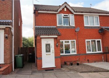 Thumbnail 2 bed semi-detached house for sale in Denbigh Close, Dudley