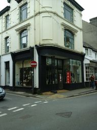 Thumbnail Retail premises for sale in High Street, Pwllheli