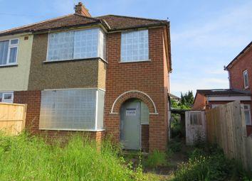 Thumbnail 3 bed semi-detached house for sale in Heathcote Road, Whitnash, Leamington Spa