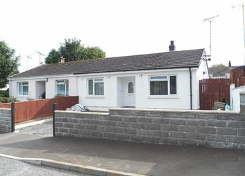 Thumbnail 2 bed semi-detached bungalow for sale in Bryn Glas, Aberporth, Cardigan
