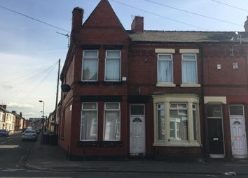 Thumbnail 3 bedroom end terrace house for sale in Orwell Road, Kirkdale, Liverpool