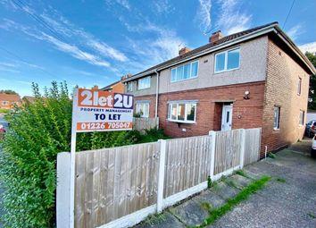 Thumbnail 3 bed semi-detached house to rent in Birthwaite Road, Darton, Barnsley