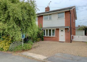 Thumbnail 3 bed semi-detached house for sale in Grenville Close, Haslington, Crewe