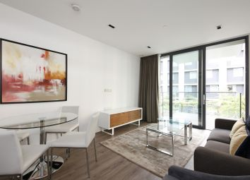 Thumbnail 2 bed flat to rent in Satin House, 15 Piazza Walk, London