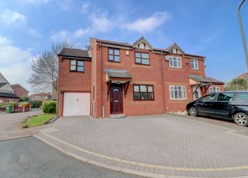 Thumbnail 4 bed semi-detached house for sale in Dover Farm Close, Wilnecote, Tamworth