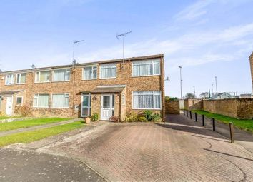 Thumbnail 3 bed end terrace house for sale in Winston Crescent, Brackley, Northamptonshire, Northants