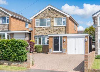 Thumbnail 3 bedroom detached house for sale in Longcroft Road, Dronfield Woodhouse, Dronfield