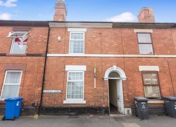 Thumbnail 3 bed terraced house for sale in Stanley Street, Derby