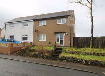 Thumbnail 3 bed semi-detached house for sale in Golf Road, Gourock