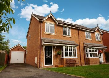 Thumbnail 3 bed semi-detached house for sale in Laburnum Meadows, Four Crosses, Llanymynech