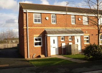 Thumbnail 2 bed end terrace house to rent in Parkside Gardens, Widdrington, Morpeth
