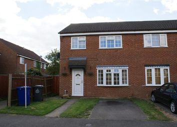 Thumbnail 3 bed semi-detached house to rent in Macpherson Robertson Way, Mildenhall, Bury St. Edmunds
