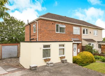 Thumbnail 3 bed semi-detached house for sale in Woodside Road, Salisbury