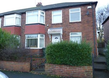 Thumbnail 2 bed flat to rent in Tunstall Avenue, Newcastle Upon Tyne