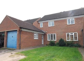 Thumbnail 3 bed semi-detached house for sale in Hawesmere Close, Biggleswade, Bedfordshire