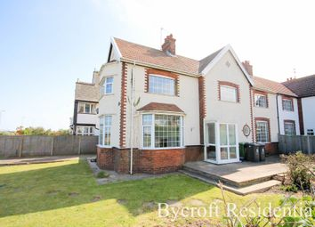 Thumbnail 3 bed semi-detached house for sale in Marine Parade, Gorleston, Great Yarmouth