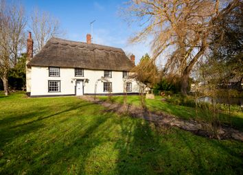 Thumbnail 4 bed detached house for sale in Farley Green, Newmarket