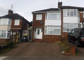 Thumbnail 3 bed semi-detached house for sale in Coleraine Road, Birmingham