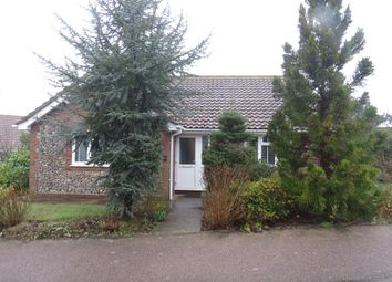 Thumbnail 2 bed detached bungalow for sale in Gorse Close, Mundesley, Norwich