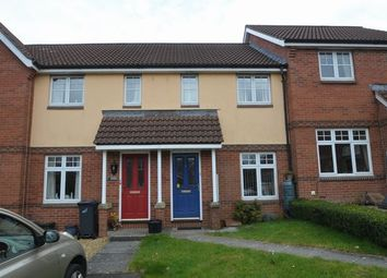 Thumbnail 2 bed terraced house for sale in Hellier Close, Honiton