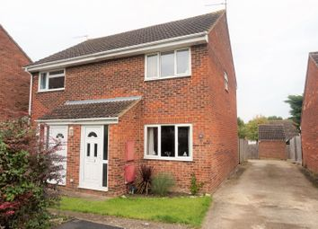 Thumbnail 2 bed semi-detached house for sale in Leslie Close, Swindon