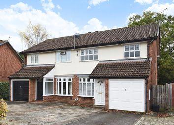 Thumbnail 3 bed semi-detached house to rent in Kesteven Way, Wokingham
