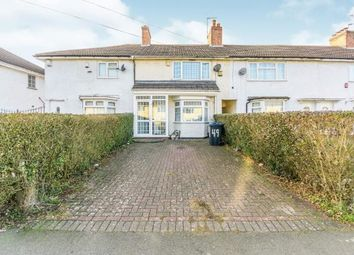 Thumbnail 2 bed terraced house for sale in Hullbrook Road, Billesley, Birmingham, West Midlands