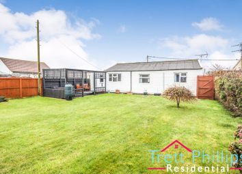 Thumbnail 2 bed detached bungalow for sale in Cross Lane, Bush Estate, Eccles-On-Sea, Norwich