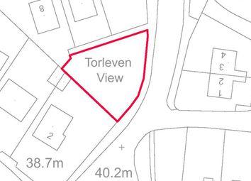 Thumbnail Land for sale in Praze Road, Porthleven, Helston