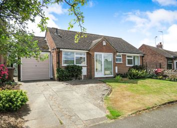 Thumbnail 3 bed detached bungalow for sale in Harpur Avenue, Ticknall, Derby