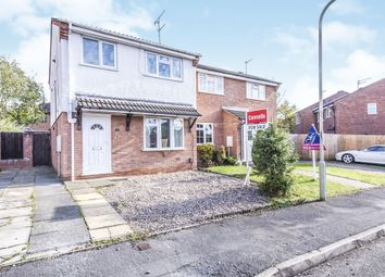 Thumbnail 3 bed semi-detached house for sale in Chelsea Close, Glen Parva, Leicester