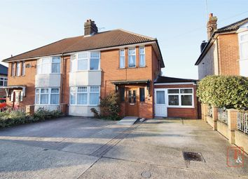 Thumbnail 4 bed semi-detached house for sale in Dales View Road, Ipswich