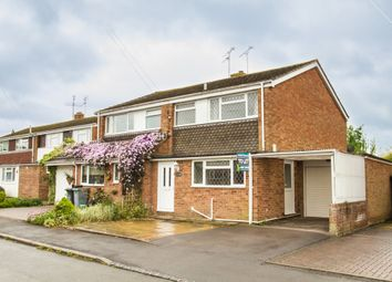 Thumbnail 3 bed semi-detached house to rent in Burwell Drive, Witney, Oxfordshire