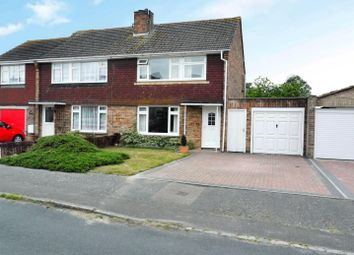 Thumbnail 3 bed semi-detached house for sale in Highlands Drive, Burgess Hill