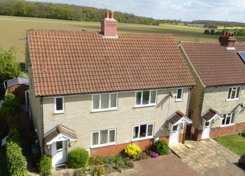 Thumbnail 3 bed semi-detached house for sale in Fiske Pightle, Willisham, Ipswich
