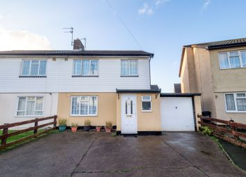 Thumbnail 3 bed semi-detached house for sale in Hook Gate, Enfield