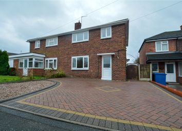 Thumbnail 3 bed semi-detached house for sale in Thackeray Drive, Leyfields, Tamworth, Staffordshire