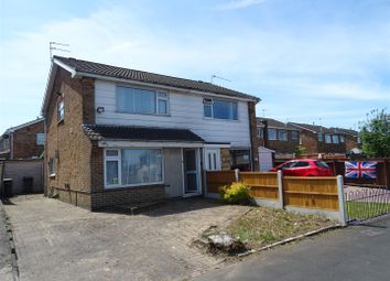 Thumbnail 3 bed semi-detached house for sale in Stonehaven Close, Coalville, Leicestershire