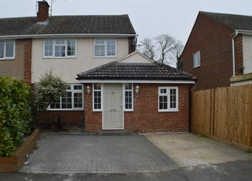 Thumbnail 3 bed semi-detached house for sale in Elmhurst Close, Haverhill