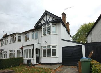 Thumbnail 3 bed semi-detached house to rent in Bridgewater Road, Wembley, Middlesex