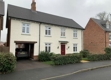 Thumbnail 4 bed detached house for sale in Gloster Road, Lutterworth, Leicestershire