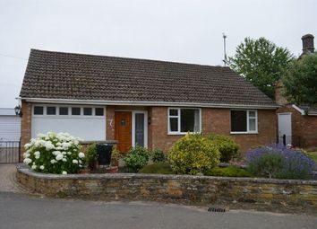 Thumbnail 3 bed detached bungalow to rent in Duchess End, Mears Ashby, Northampton