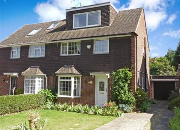 Thumbnail 4 bed semi-detached house for sale in The Coppice, Aylesford, Kent