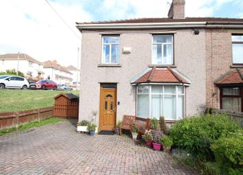 Thumbnail 3 bed semi-detached house for sale in Gelli Avenue, Risca, Newport