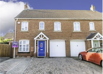 Thumbnail 3 bed semi-detached house for sale in Ilkeston Road, Swindon