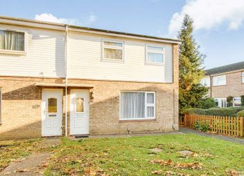 Thumbnail 3 bedroom end terrace house for sale in Viscount Court, Eaton Socon, St. Neots