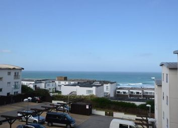 Thumbnail 3 bed flat for sale in Ocean 1, Pentire Avenue, Newquay, Cornwall