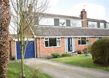 Thumbnail 3 bed semi-detached house for sale in Rainsburgh Lane, Wold Newton, Driffield
