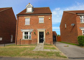 Thumbnail 4 bed detached house for sale in Station Road, Hambleton, Selby