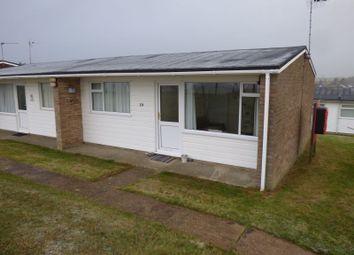 Thumbnail 2 bedroom mobile/park home for sale in Chalet 19 Alandale Park Bethel Drive, Kessingland, Lowestoft, Suffolk